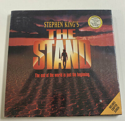 Stephen King's The Stand Laserdisc Box Set Sealed