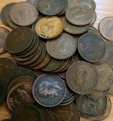 10 Farthings Old Coins