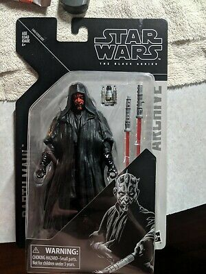 Star Wars Black Series DARTH Maul Archive 6 Inch Wave 2 Same Day Ship