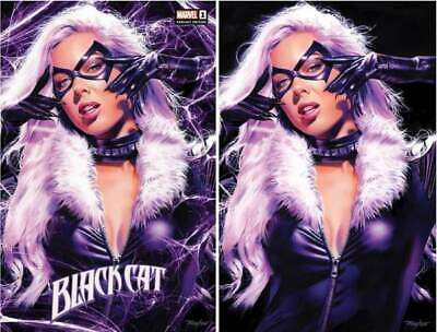 Black Cat #1 Mike Mayhew Trade Dress/Virgin Variant Set Limited To 1000 Sets