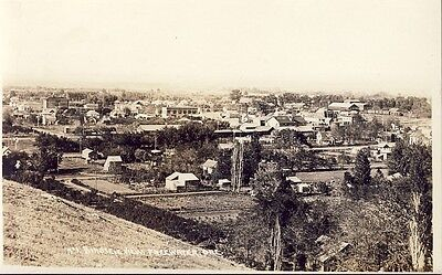 FREEWATER OREGON TOWN VIEW c1915 RPPC Photo Postcard