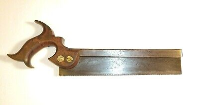 Nice 19Th Century Saw With The Maker's Name Sheffield And Original Blade Cover