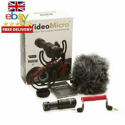 Rode Videomicro Compact On Camera Microphone Metal Video Audio MIC