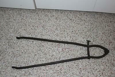 Superb Primitive Wrought Iron Hearth/Fireplace Tongs
