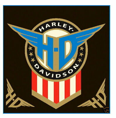 Harley Davidson Motorcycle Honor Decal With Bonus Decals * Made In The Usa *