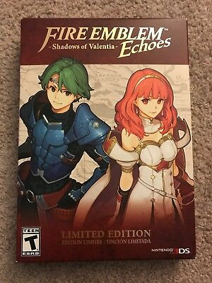 Fire Emblem Echoes: Shadows of Valentia -- Limited Edition (Nintendo 3DS, 2017)