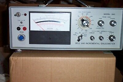"F.W. Bell 640 Incremental Gaussmeter ""In Fine Working Condition"""