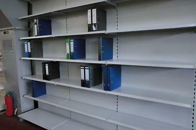 Wall Shelf Tegometall Office Warehouse Folder Rack Shop 1 Meter