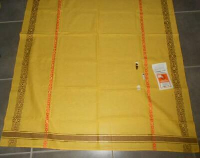 1960's Unused VINTAGE Retro TableCloth Made in Western Germany 178 cm x 127 cm