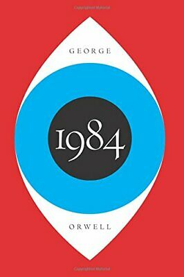1984 Hardcover by George Orwell Classic American Literature Political Fiction