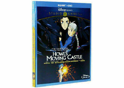 Howl's Moving Castle Disney - Blu Ray + Dvd - New