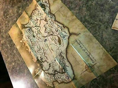 Elder Scrolls Province Of Skyrim Small Sized  -  Poster / Map
