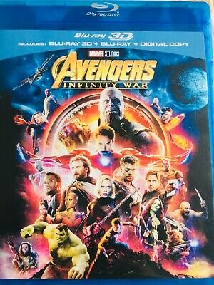 Avengers 3D BLURAY (region code not required)