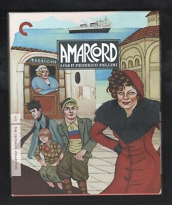 Amarcord (Blu-ray Disc, 2011, Criterion Collection)