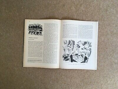 """Punch Magazine April 1963 Includes An Essay By Sylvia Plath """"America! America!"""""""