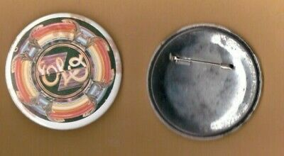 ELO Electric Light Orchestra Jeff Lynne vintage 1970s BUTTON BADGE