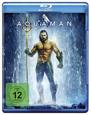 Aquaman Blu-Ray - Willem Dafoe Dolph Lundgreen Action Science Fiction