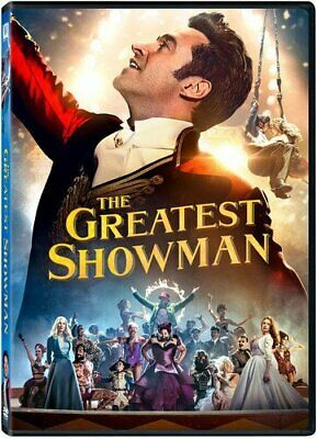 The Greatest Showman Movie Film Hugh Jackman DVD  - NEW - UK COMPATIBLE