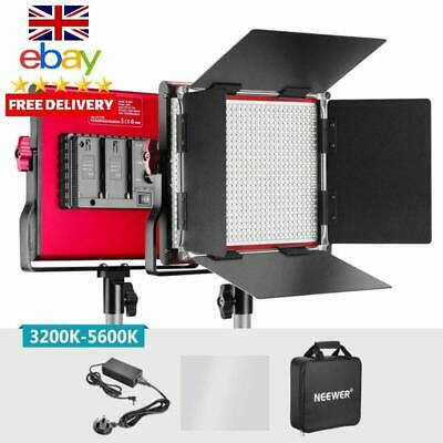 Neewer Metal Bi-Color Led Video Light For Studio Youtube Product Photography Vid
