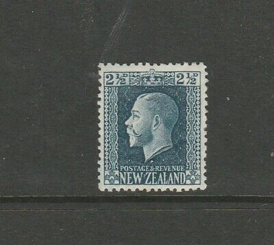New Zealand 1915/30 GV 2 1/2d Blue  P14 x 14.5 MM SG 419a