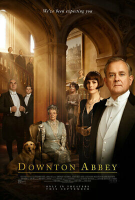 Downtown Abbey - original DS movie poster 27x40 D/S