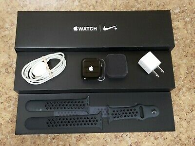 *Apple Watch Series 4 Nike+ 44mm Space Gray w/ Nike Band GPS+Cellular MTXE2LL/A