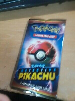 pokemon detective pikachu booster pack (4 Cards in each)