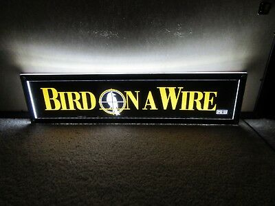 *** BIRD on a WIRE [1990] *** D/S 5x25 [LARGE] MOVIE THEATER POSTER [MYLAR] ***
