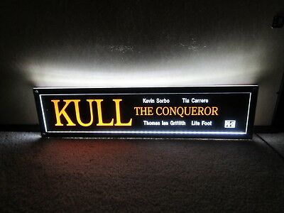 *** KULL the CONQUEROR [1997] *** D/S 5x25 [LARGE] MOVIE THEATER POSTER [MYLAR]