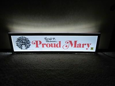 *** PROUD MARY [2018] *** 5x25 [LARGE] MOVIE THEATER POSTER [MYLAR] ***