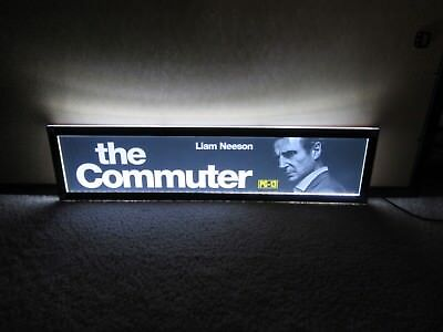 *** THE COMMUTER [2018] *** 5x25 [LARGE] MOVIE THEATER POSTER [MYLAR] ***