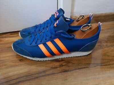 ADIDAS JEANS MK II Limited Edition Brown UK Size 9 (Raw
