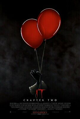 It Chapter 2 Movie Poster  24x36 27 x 40 red balloons