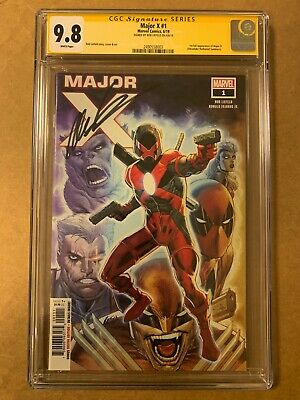 Major X #1 (2019 Marvel) 1st appearance of Major X Signed Rob Liefeld CGC 9.8