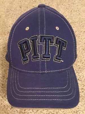 san francisco 3b995 7a5c7 Pittsburgh Panthers PITT ~ NCAA Flex Fit ZEPHYR Adult M L Navy Cap