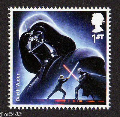 2015 SG 3758 1st NVI Darth Vader ex 'Star Wars:The Force Awakens' PSB DY15 MINT