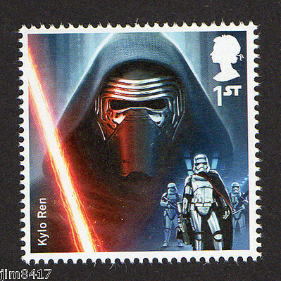 2015 SG 3769 1st NVI Kylo Ren from 'Star Wars: The Force Awakens' PSB DY15 MINT