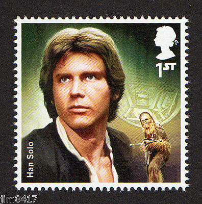 2015  SG 3762 1st NVI Han Solo from 'Star Wars: The Force Awakens' PSB DY15 MINT