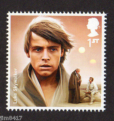 2015 SG 3766 1st NVI Luke Skywalker 'Star Wars:The Force Awakens' PSB DY15  MINT