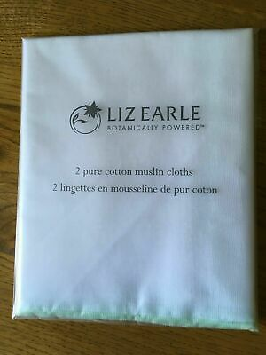 Liz Earle Muslin Cotton Cloths, Pack of two, Brand new