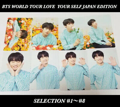 BTS JUNGKOOK Official Photocard  WORLD TOUR LOVE YOURSELF JAPAN ver. 1-8