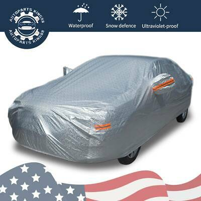 XX-Large Car Cover Water Proof 250g PEVA with Cotton Backing 225X80X47 Out Door