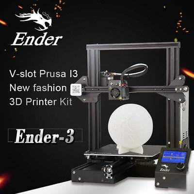 Creality 3D Ender 3 3D Printer V-slot Removable 220X220X250mm Plate Christmas AU