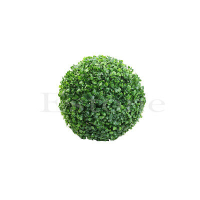 Artificial Round Plant Ball Tree Topiary Green Boxwood Outdoor Wedding Decor uk