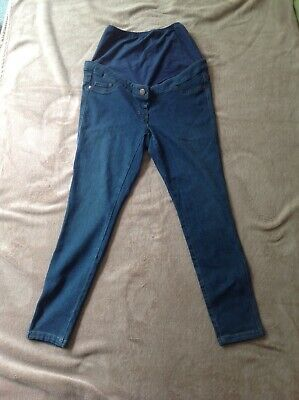 Next Size 10S Short Leg Over The Bump Maternity Skinny Jeans Jeggings