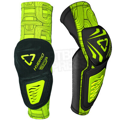 Leatt 3Df Hybrid Elbow Guards - Black Lime