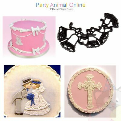 Patchwork Cutters - Wedding Celebration - Cake Decoration Cutters and Embossers