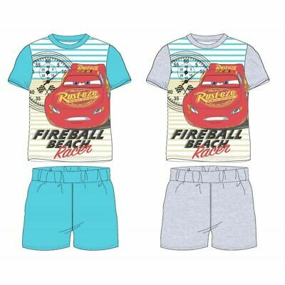 NEW DISNEY CARS SHORTIE PYJAMAS BOYS GIRLS KIDS CHILDREN SHORT PJS -  2-8 Years