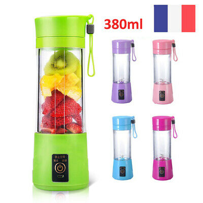 Portable Mixeur des Fruits rechargeable avec USB,Mini Blender Blender Portable