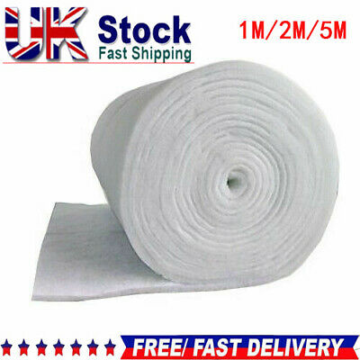 Filter Floss Wool Media Roll Aquarium Pond 40Cm Width Fish External Tank Marine